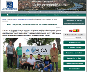 Article Elca Composites VVAD